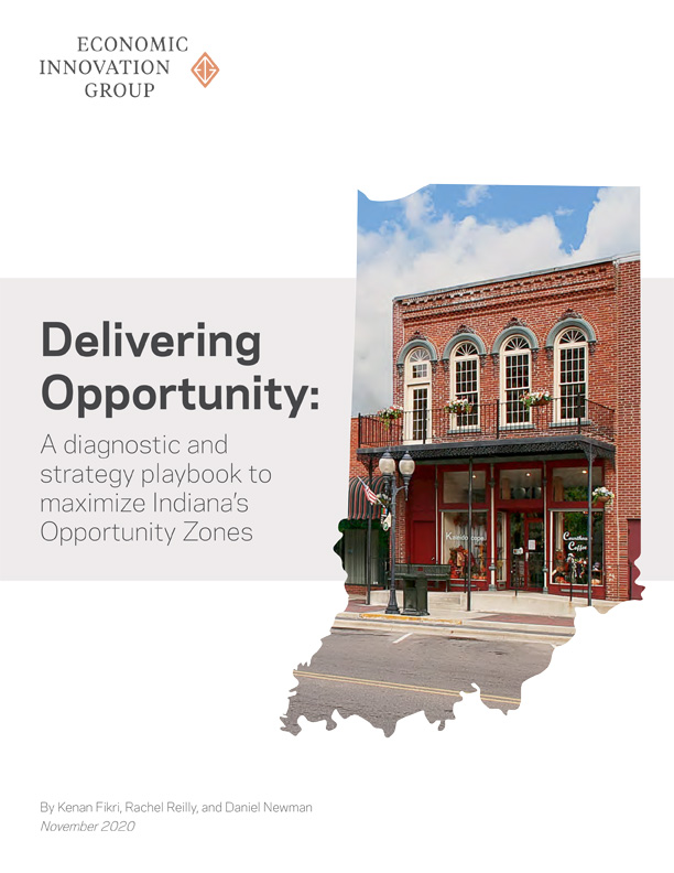Delivering Opportunity: A diagnostic and strategy playbook to maximize Indiana's Opportunity Zones